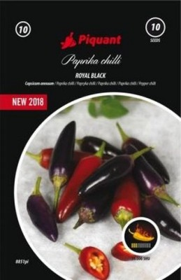 Paprika chilli Royal Black